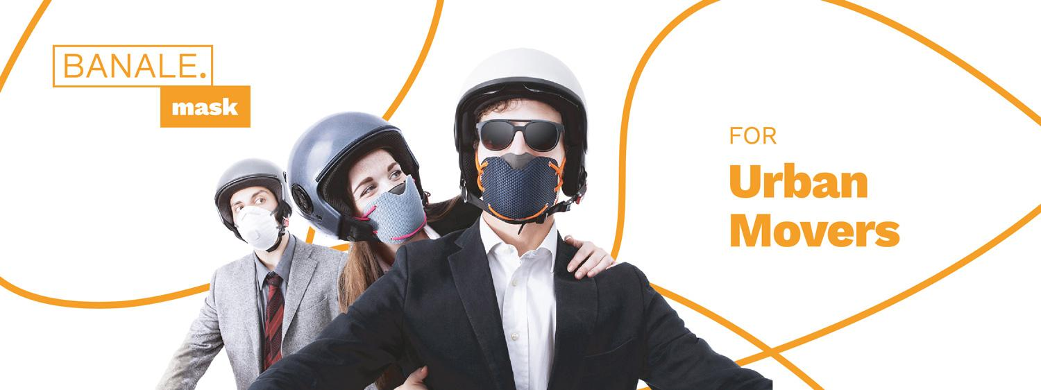 Mask for urban movers IT