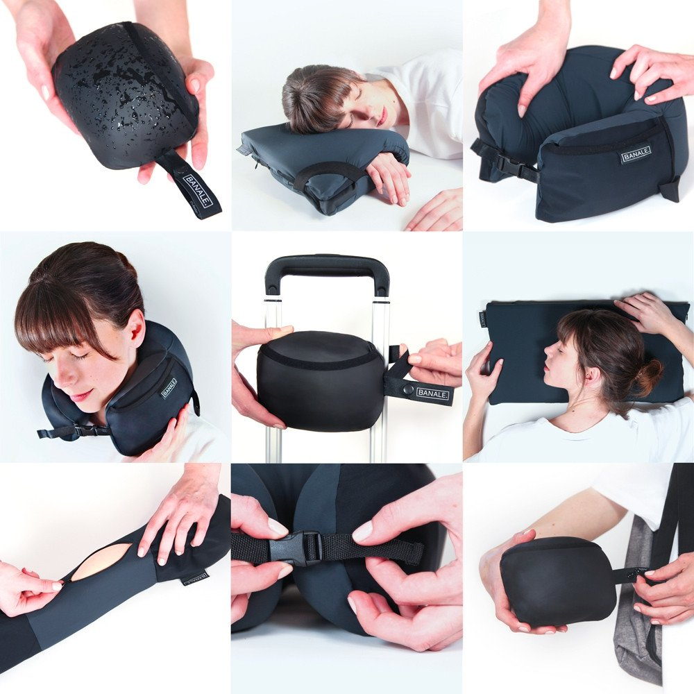 One Travel Pillow Endless Possibility